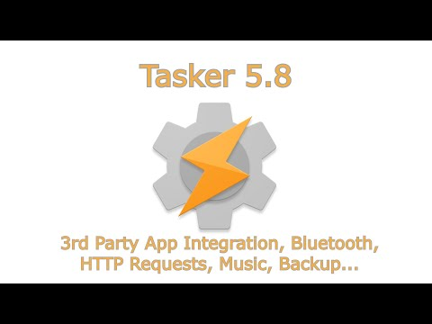Tasker 5.8 - Apps, Bluetooth, HTTP, Music, Backup And More!