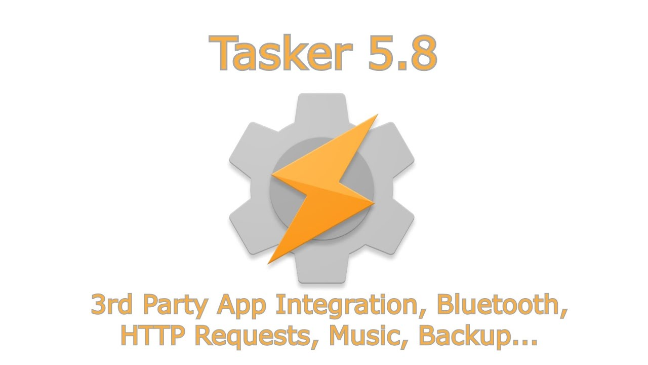Tasker 5 8 adds new features to automate your Apps, Bluetooth