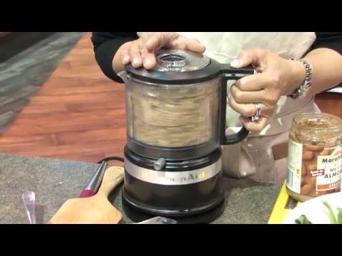 Kitchen Aid Artisan In Stock Kitchens Demo'ing Kitchenaid's New Mini Food Processor - Youtube