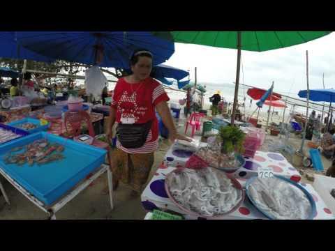 ตลาดเช้าบ้านเพ ระยอง RAYONG ban phe market