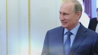 The rise of Putin's popularity rating