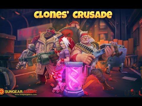 Clones Crusade - Военная тактическая стратегия на Android(Обзор/Review)