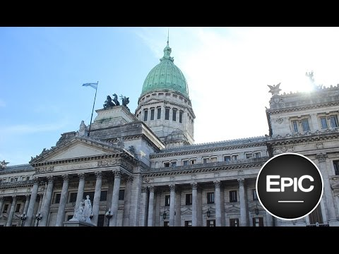 Congreso de la Nación Argentina /  Palace of the National Congress - Buenos Aires, Argentina (HD)