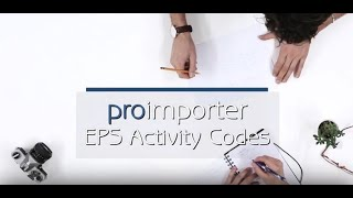 proimporter - EPS Activity Codes