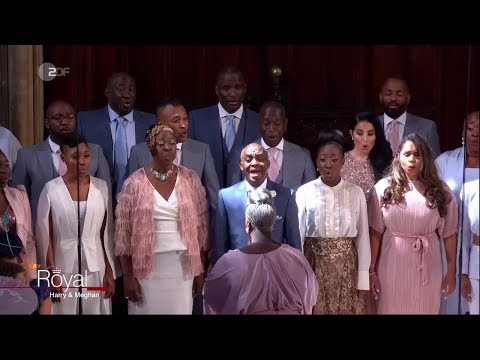 """Stand By Me"" Karen Gibson & The Kingdom Choir @ Royal Wedding Of Prince Harry & Meghan Markle 2018"