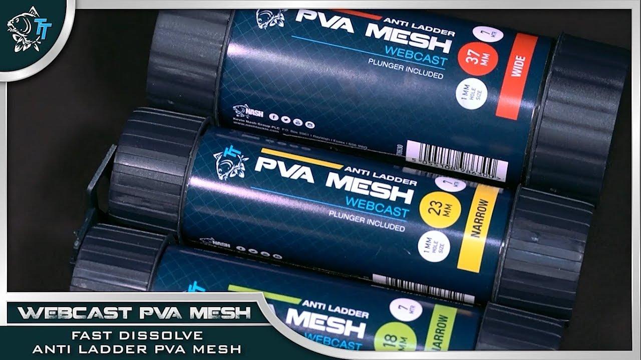 Nash Webcast Pva Mesh System For Carp Fishing 7 Metre Dispenser