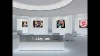 Instagram Diaporama créé avec Nero MediaHome