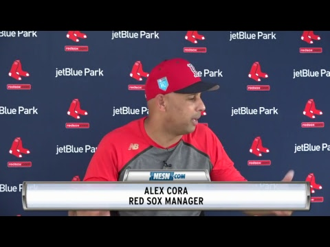 Red Sox Spring Training News Conferences -- 02/13/18