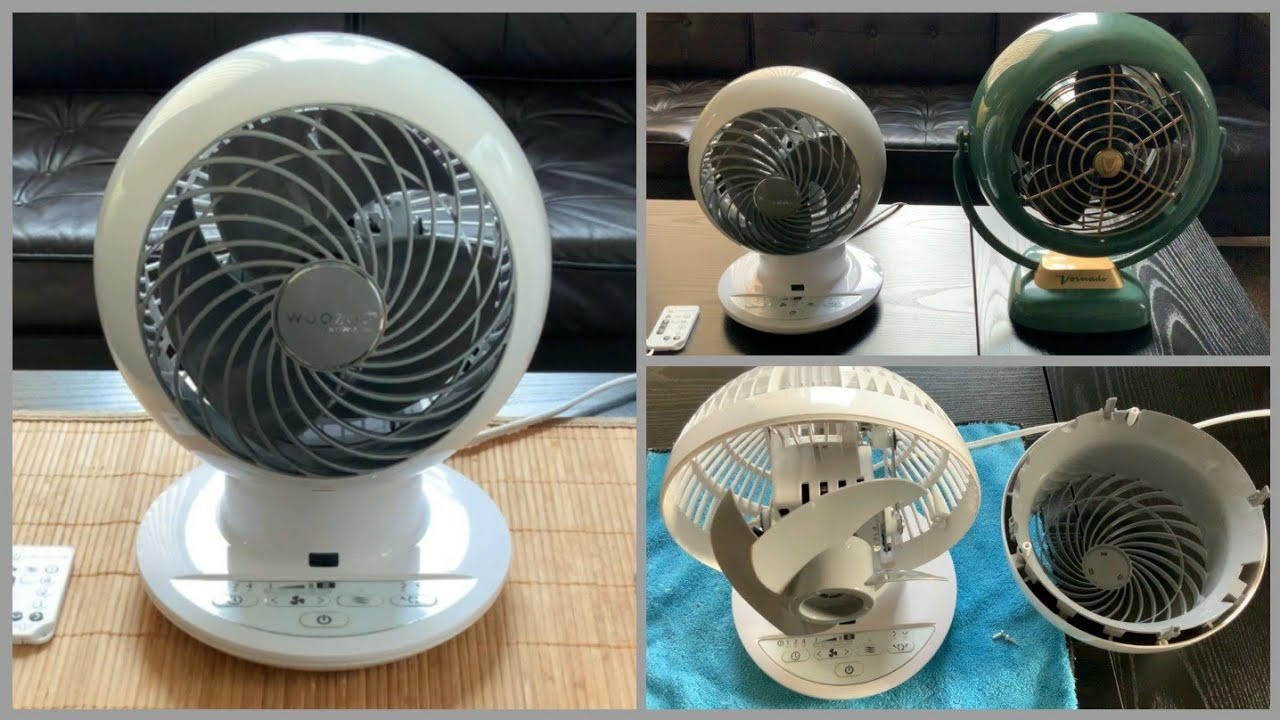 Download Woozoo Globe Compact Fan by Iris - Review and Demonstration