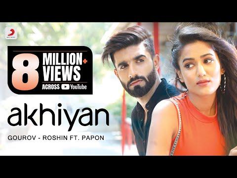 Akhiyan | Gourov - Roshin | Papon | Mr. MNV | Gima | Latest Love Song #EkTarfaPyaar