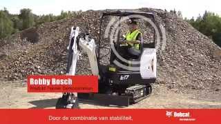 Bobcat E17 minigraver