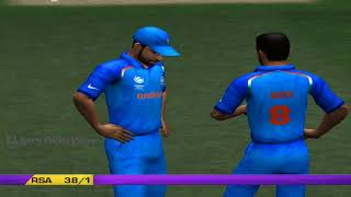 India vs South Africa - 5 Overs Match 1 Part 1 - EA CRICKET 2018 PC Game
