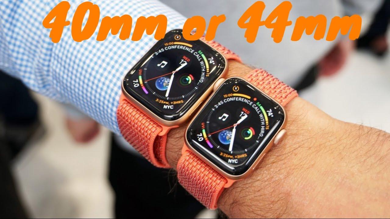 Apple Watch 40 Oder 44