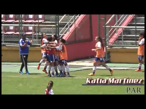 Resumen: Paraguay 5-1 Argentina | Sudamericano femenino sub-17 | SoloFutFemVzla