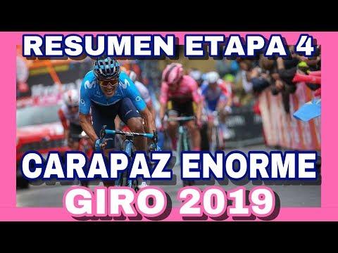 RESUMEN ETAPA 4 GIRO DE ITALIA 2019 🇮🇹