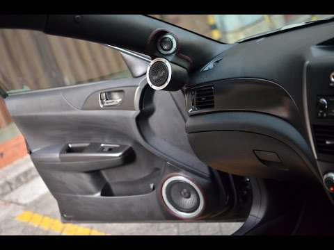 Audio Mobil Juara SQ SUBARU WRX | PIONEER ODR FOCAL BE Tweeter  QUARTORIGO Speakers
