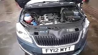 Двигатель CBZ 1.2T skoda fabia 2 (2)