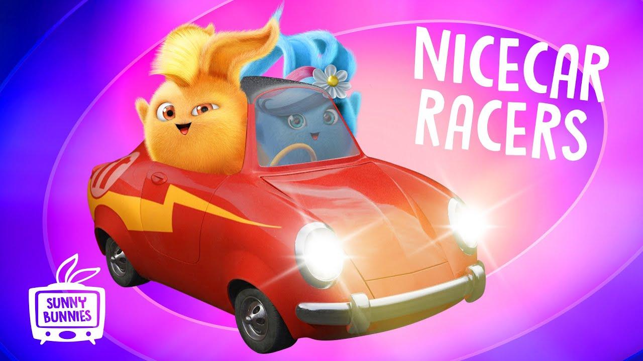 🔴  LIVE SUNNY BUNNIES TV | NICECAR Racers | Cartoons for Children