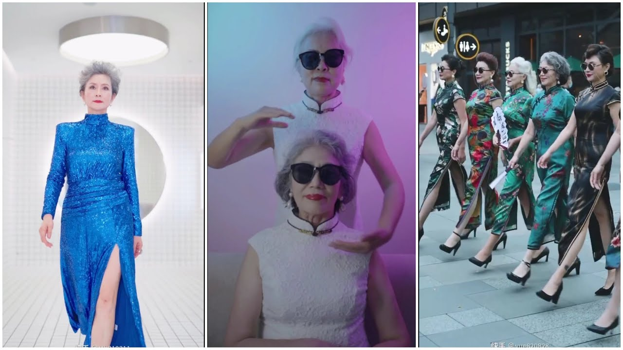 [Hot]Tiktok trung quốc – Đú Trend Cùng Quý Bà P1  TikTok Chinese