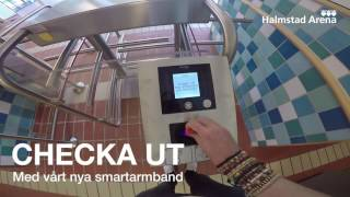 Nytt passersystem på Halmstad Arena Bad