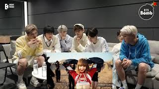 BTS REACTION TO LISA - 'LALISA' M/V