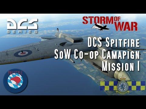 DCS Spitfire - Storm of War Coop Campaign - Mission 1