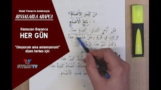Kıssalarla Arapça (24. Bölüm)