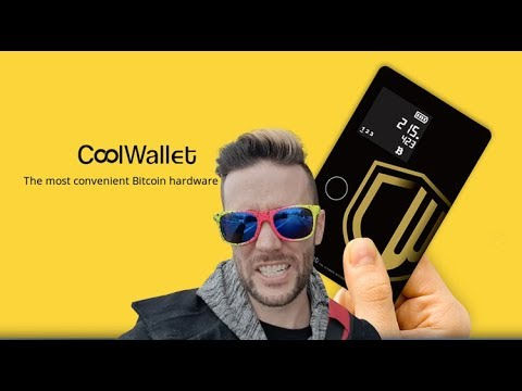 Cool Wallet – Credit Card Sized Hardware Wallet
