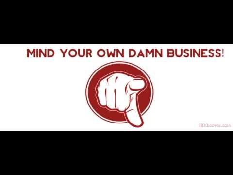 Free Rap Instrumental - Mind My Business