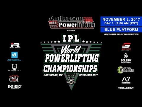 IPL World Powerlifting Championships | Day 1 – Blue Platform