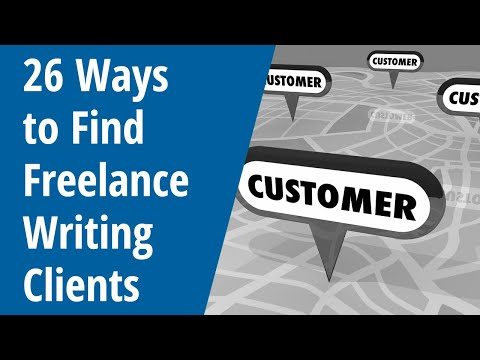 26 Ways to Find Freelance Writing Clients - Inside AWAI