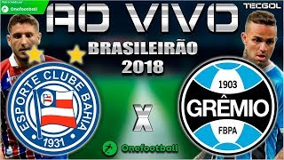 Bahia 0x2 Grêmio | Brasileirão 2018 | Parciais Cartola FC | 9ª Rodada | 03/06/2018