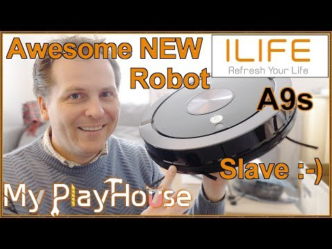 ILIFE A9s Robot Vacuum Cleaner & Mopping. Unboxing & Review - 828