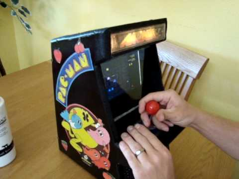 Mini arcade game - YouTube