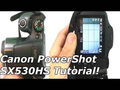 Canon PowerShot SX530 HS Tutorial