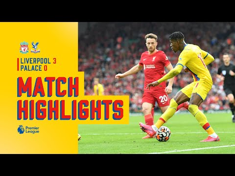 Match Action: Liverpool 3-0 Crystal Palace