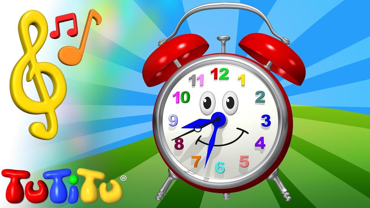 bed43d9d76d1 Canciones para niños en Ingles con TuTiTu | reloj | Aprender inglés para  niños y bebés