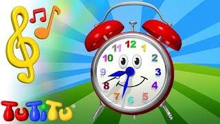 Canciones para niños en Ingles con TuTiTu | reloj | Aprender inglés para niños y bebés