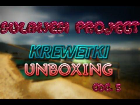 Project Sulawesi od A do Z / Część 5 / Krewetkowy Unboxing /