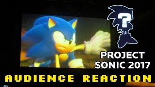 Project Sonic 2017 Reveal Audience Reaction (Sonic Forces)
