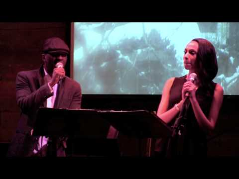 Nicolette Robinson & Leslie Odom, Jr. -
