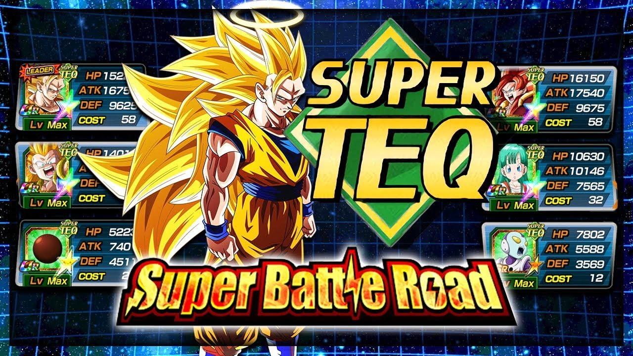 EVEN FURTHER BEYOND! SUPER TEQ SUPER BATTLE ROAD! | Dragon Ball Z Dokkan  Battle
