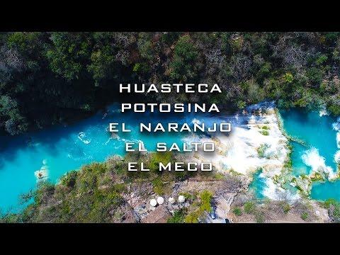 Huasteca Potosina: El Naranjo, el Salto y el Meco (Drone edit)