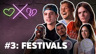 Braboneger, Lil' Kleine & Ronnie Flex haten hipsters | LOVERS x HATERS #3: Festivals