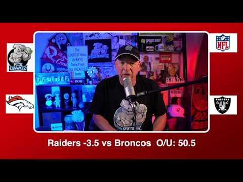 Las Vegas Raiders vs Denver Broncos 11/15/20 NFL Pick and Prediction Sunday Week 10 NFL PickDawgz
