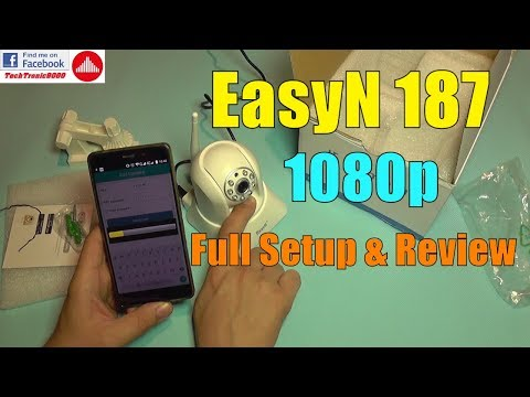 EasyN 187 FullHD 1080P Wireless WiFi IP Camera - Full Review
