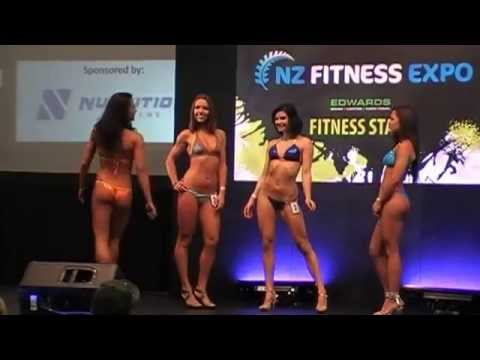 2015 NZ Fitness Model Search: Women's Division (Swimsuit Round - Part 2)