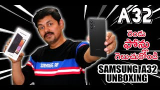 Samsung Galaxy A32 Unboxing and Give-Away