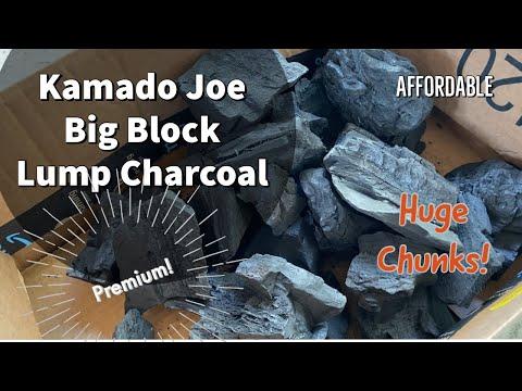 Kamado Joes Big Block Lump Charcoal Over Royal Oak
