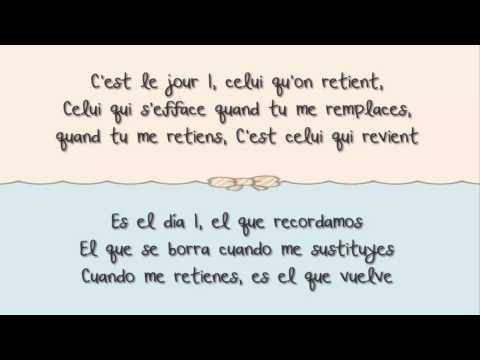 Louane - Jour 1 CON LETRA (Español - Frances)